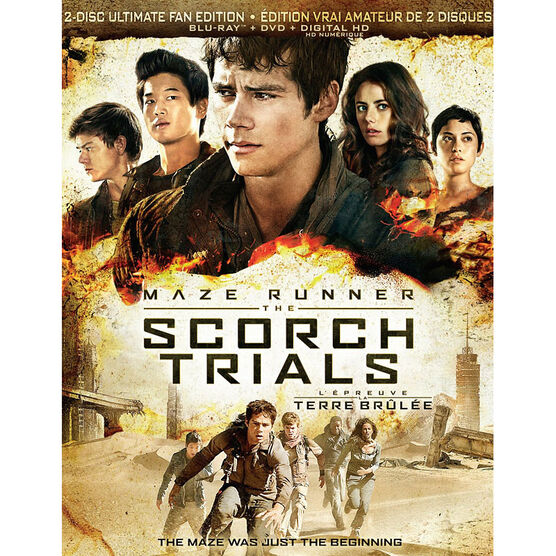 The Maze Runner: The Scorch Trials - Blu-ray + DVD + Digital