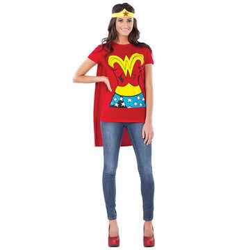Halloween Wonder Woman T-Shirt Costume - Small