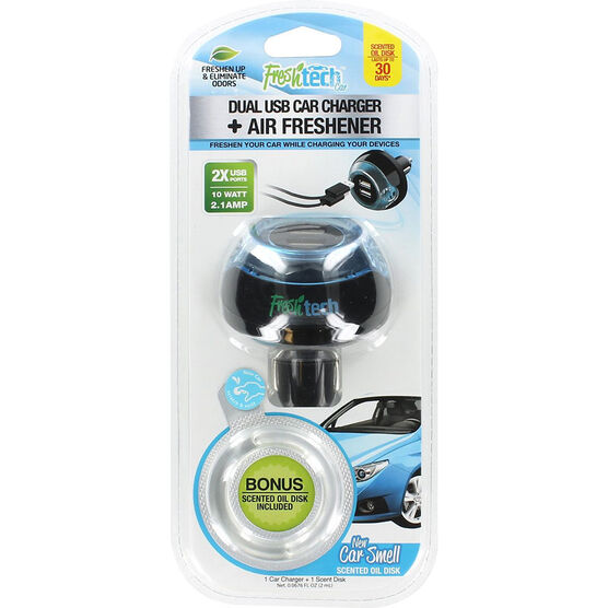 FreshTech Dual USB Car Charger - FTCCUSB2