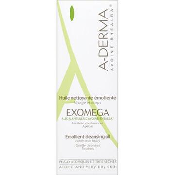 A-Derma Exomega Emollient Cleansing Oil - 200ml