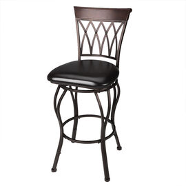 London Drugs Swivel Metal Bar Stool - Brown/Black