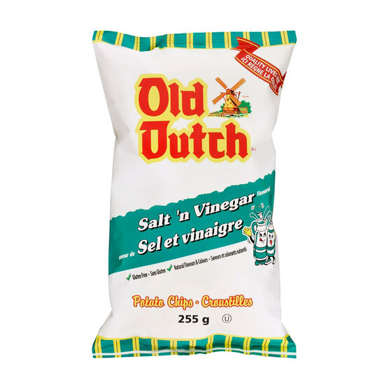 Old Dutch Potato Chips - Salt 'N Vinegar - 255g