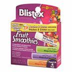 Blistex Fruit Smoothies Lip Balm - 4 Pack