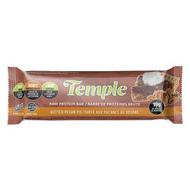 Temple Raw Protein Bar - Butter Pecan Pie - 70g