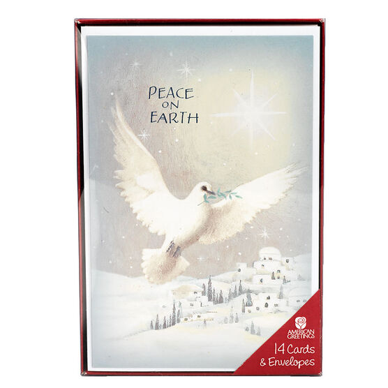 Plus Mark Christmas Cards - Angelica - 14 count - Assorted