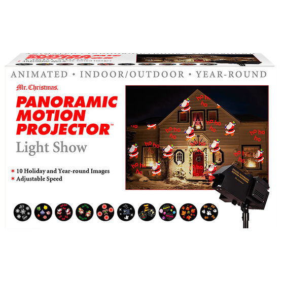 Mr. Christmas Panoramic Motion Projector Animated Light Show