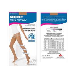 Secret Active Leg Pantyhose - C - Beige