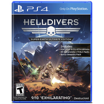 PS4 Helldivers Super-Earth Ultimate Edition