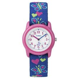 Timex Youth Grils Analogue Watch - Pink/Blue - T89001KU