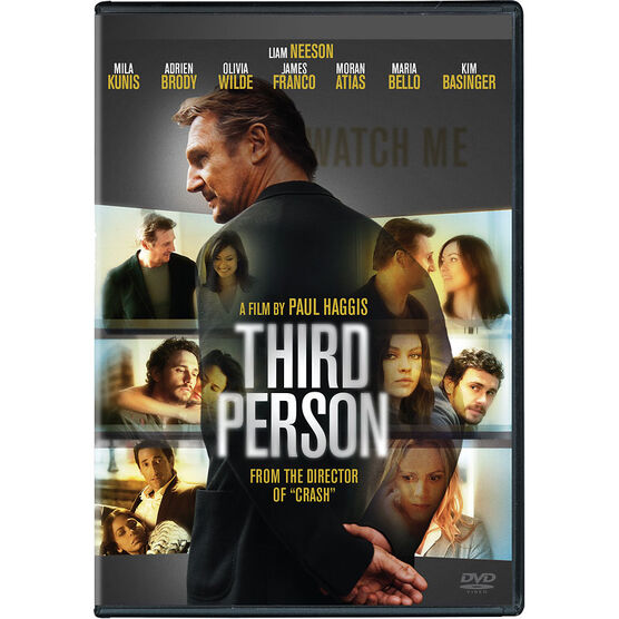 Third Person - DVD