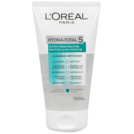 L'Oreal Hydra-Total 5 Ultra-Fresh Routine Cleanser - 150ml