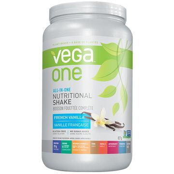 Vega One All-in-One Nutritional Shake - French Vanilla - 827g