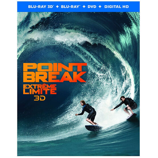 Point Break 3D (2015) - 3D Blu-ray