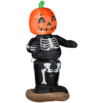 Halloween Outdoor Pumpkin Boy Inflatable Decoration
