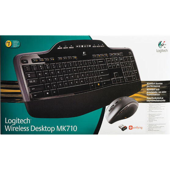 Logitech MK710 Wireless Desktop Keyboard - 920-002417