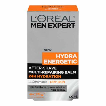 L'Oreal Men Expert Hydra Energetic After-Shave Multi-Repairing Balm - 100ml