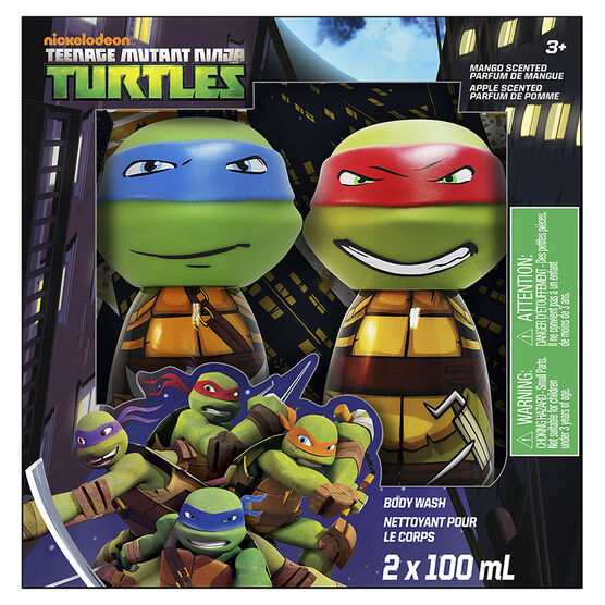 Nickelodeon Teenage Mutant Ninja Turtles Body Wash - Mango - 2 x 100ml