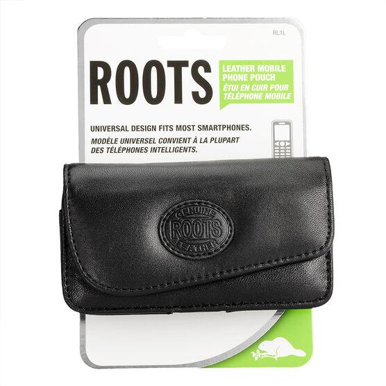 Roots Universal Smartphone Case - Black - RL1LBK
