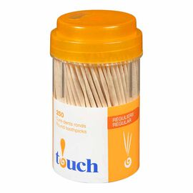 Touch Toothpicks Round - 250's