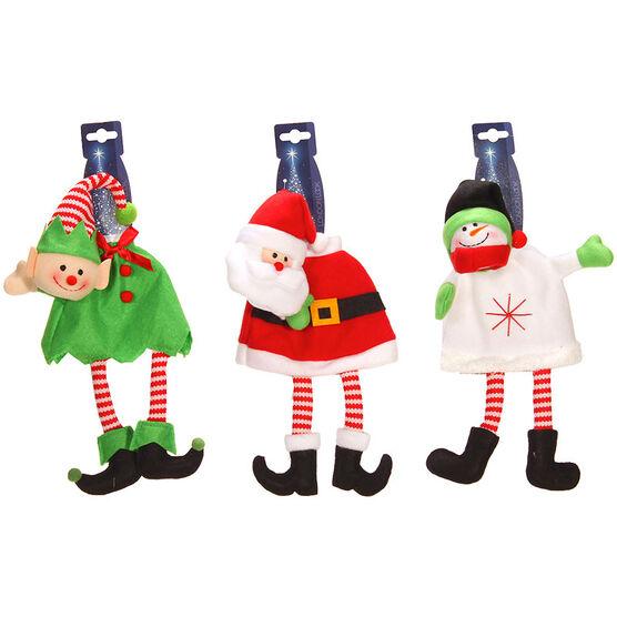 London Look Jingle Jolly Bottle Topper - 12inch