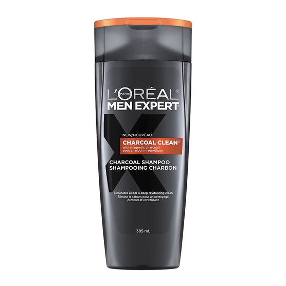 L'Oreal Men Expert Charcoal Clean Shampoo - 385ml