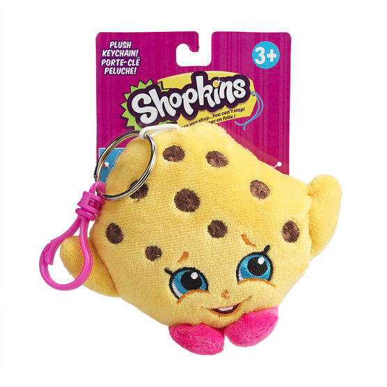 Shopkins Plush Keychain - Assorted