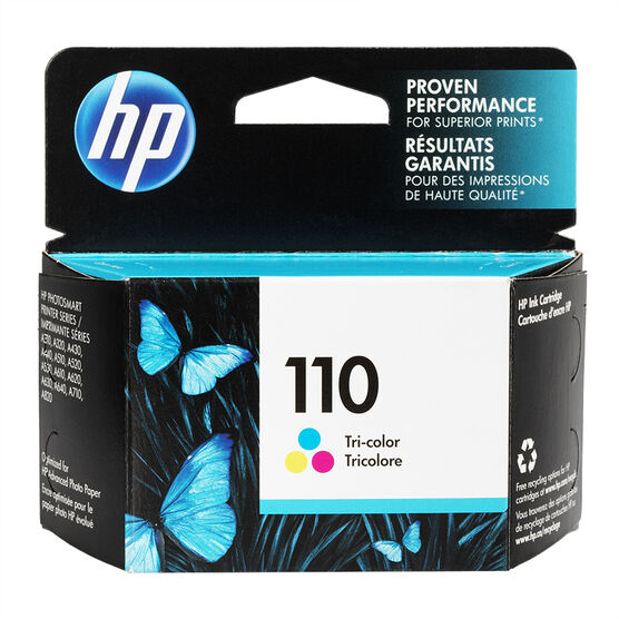 HP 110 Ink Cartridge - Tri-Colour - CB304AC-14
