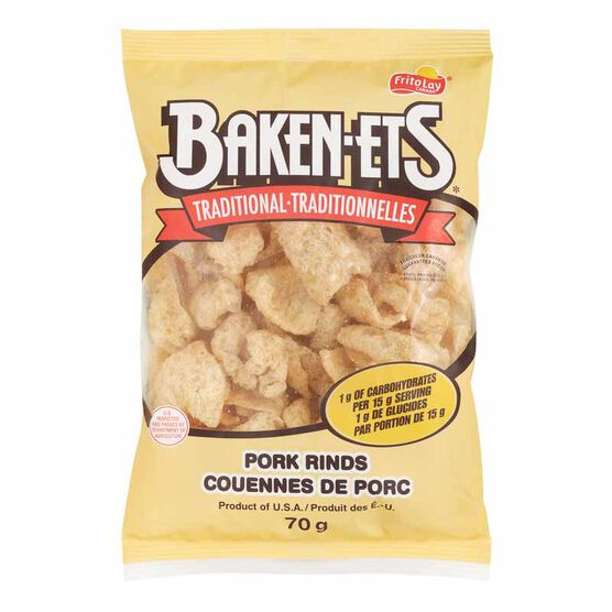 Bakenets Pork Rinds - 70g