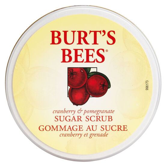 Burt's Bees Cranberry & Pomegranate Sugar Scrub - 225g