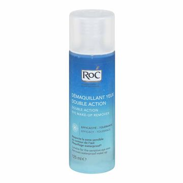 RoC Double Act Eye Make-Up Remover - 125ml