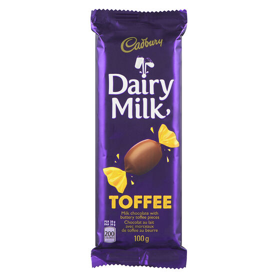 Cadbury Dairy Milk - Toffee - 100g