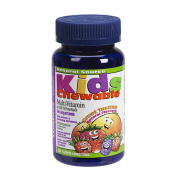 London Drugs Natural Kids Multi-Vitamin with Minerals - 100's