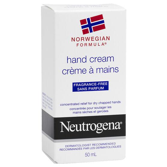 Neutrogena Norwegian Formula Hand Cream - Unscented - 50ml