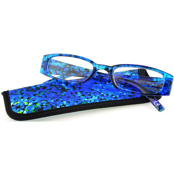 Foster Grant Brynna Reading Glasses with Case - 1.50
