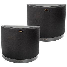Klipsch RS42MKIIB Surround Speaker Pair - Matte Black Vinyl