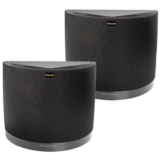 Klipsch RS42MKIIB Surround Speaker Pair - Matte Black Vinyl
