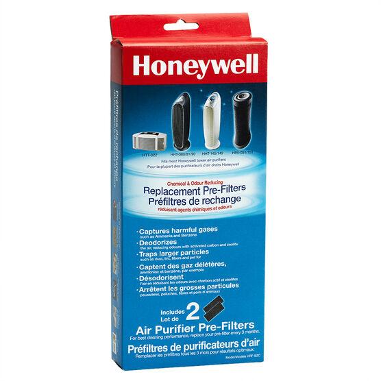 Honeywell Premium Odour Reducing Carbon Filter - 2 pack - HRF-B2C