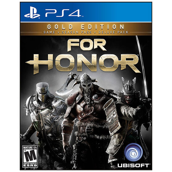 PRE-ORDER: PS4 For Honor: Gold Edition