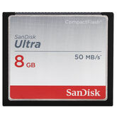 Sandisk Ultra 8 GB CompactFlash Memory Card - SDCFHS-008G-C46