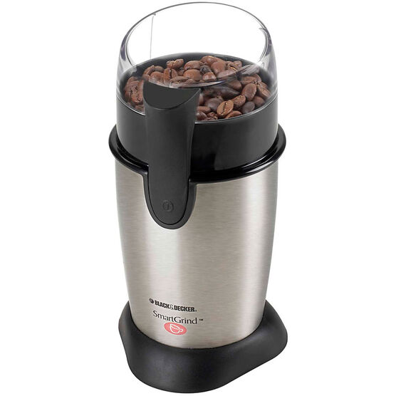 Black & Decker Coffee Bean Grinder - Stainless Steel - CBG100SC