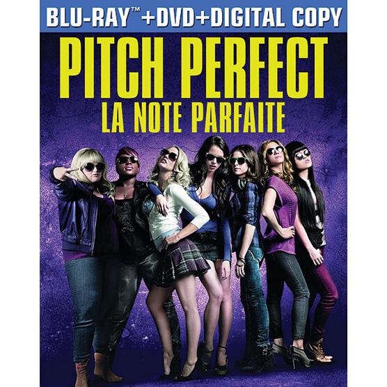 Pitch Perfect - Blu-ray + DVD + Digital Copy + Ultraviolet