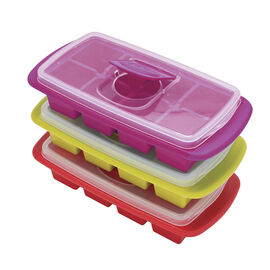 Joie Ice Cube Tray with Lid - Extra Large - Assorted