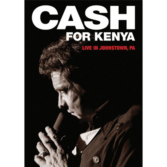 Johnny Cash: Cash for Kenya - Live in Johnston, Pensylvania - DVD