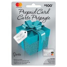 Vanilla Mastercard Gift Card - $100