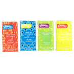 Kleenex 3 Ply Facial Tissue Pocket Pack - Assorted - 10's