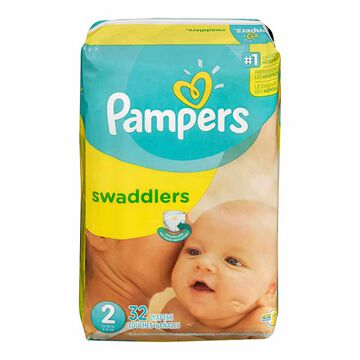 Pampers Swaddlers Diapers - Size 2 - 32's