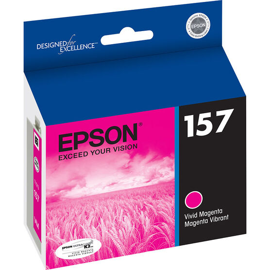 Epson 157 Ink Cartridge - Vivid Magenta - T157320