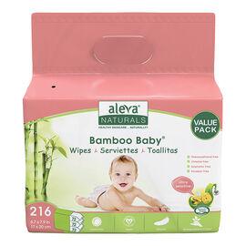 Bamboo Baby Wipes - Sensitive Skin - 216's