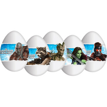 Zaini Guardians of The Galaxy Chocolate Egg - Assorted - 20g