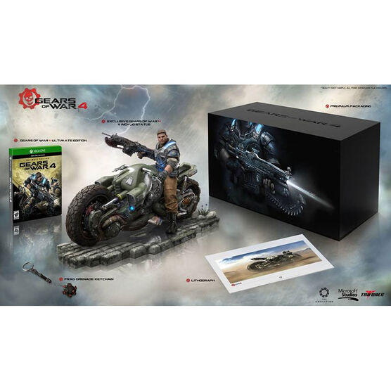 Xbox One Gears Of War 4 Ultimate Collector's Edition